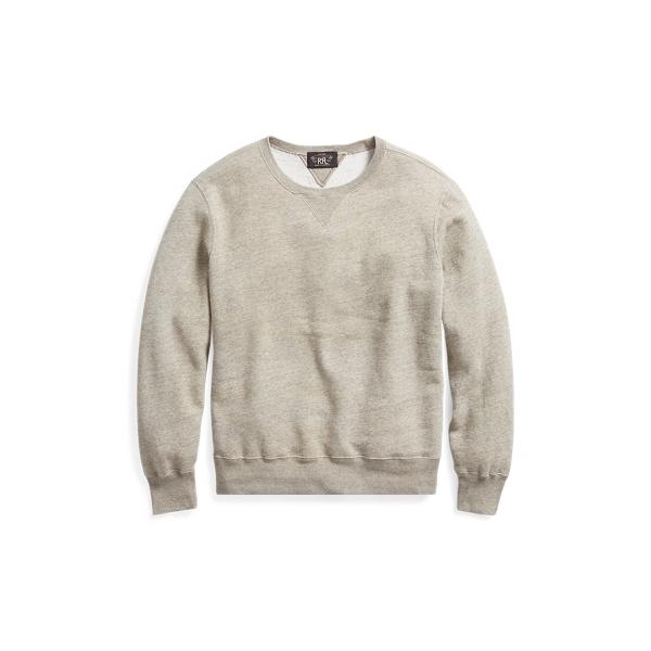 Ralph Lauren Cotton-Blend-Fleece Sweatshirt Camp Heather Xs