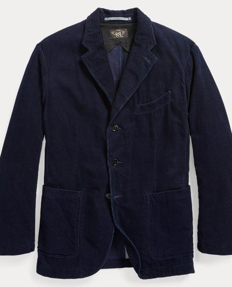 Indigo Corduroy Sport Coat