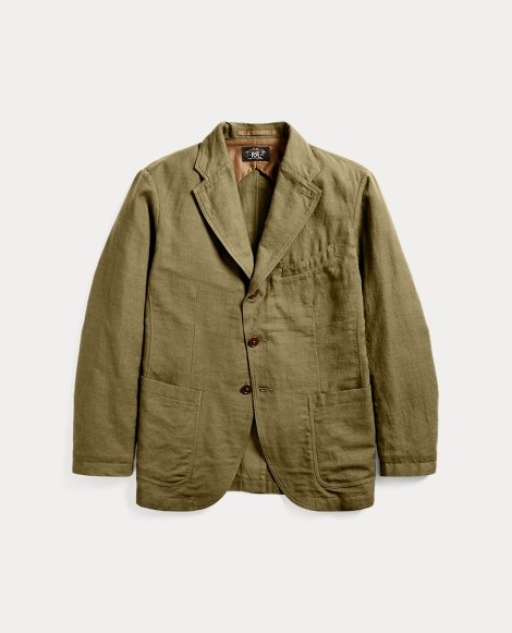 Cotton-Blend Sport Coat