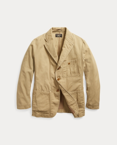 Cotton Twill Sport Coat