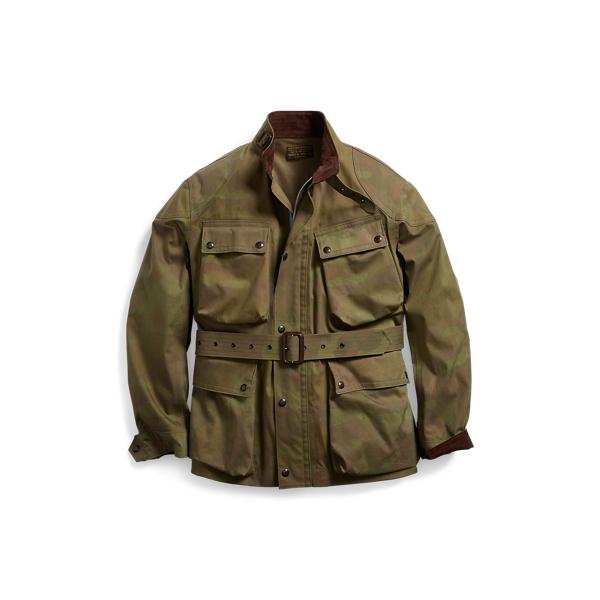 Ralph Lauren Camo Cotton-Blend Jacket Camo S