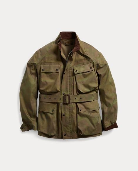 Camo Cotton-Blend Jacket