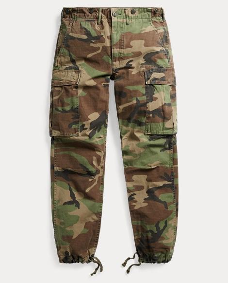 Camo Cotton Cargo Pant