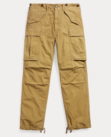 Cotton Dobby Cargo Pant