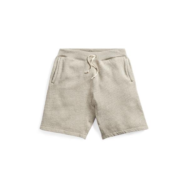Ralph Lauren Cotton-Blend-Fleece Short Camp Heather Xl