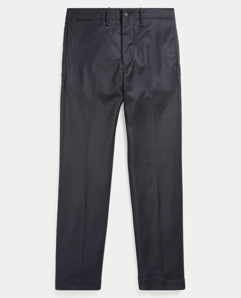 Wool-Blend Officer's Pant