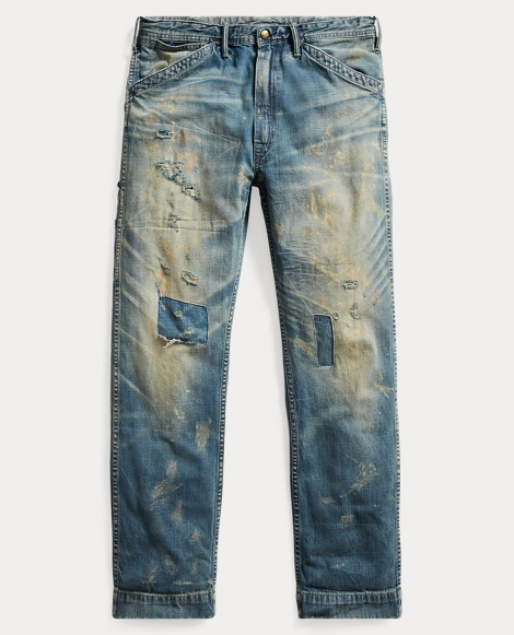 Distressed Carpenter Jean
