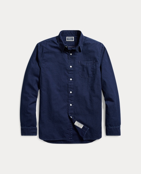 Indigo Cotton Workshirt