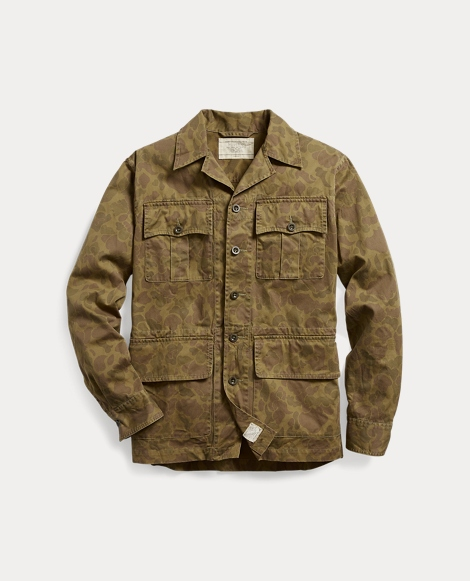 Camo Cotton Twill Shirt