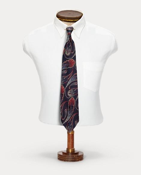 Handmade Paisley Silk Tie
