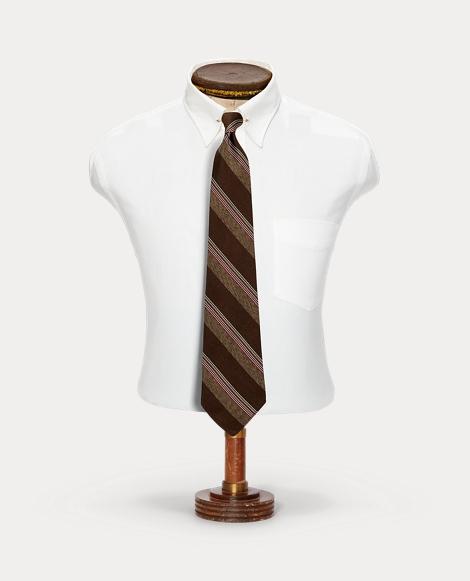 Handmade Silk Jaspé Tie