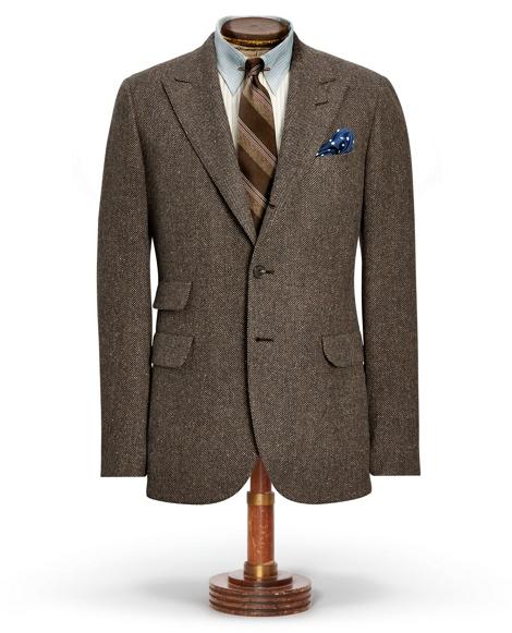 Herringbone Suit Jacket