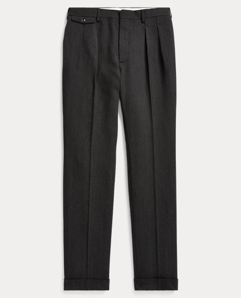 Slim Fit Herringbone Trouser