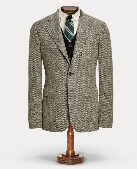 Wool-Cotton Sport Coat