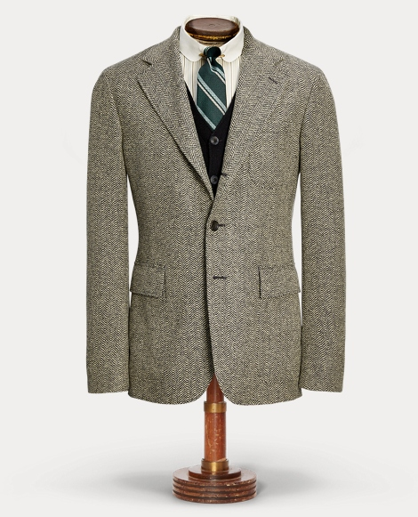 Wool-Cotton Sport Coat