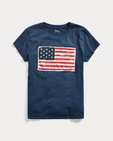 Flag Jersey Graphic T-Shirt