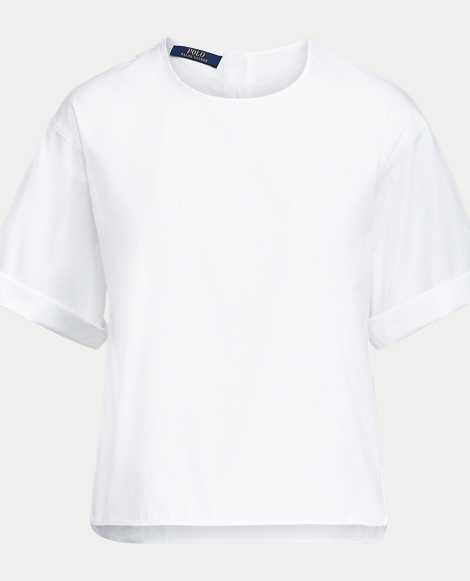 Cotton Broadcloth Shirt