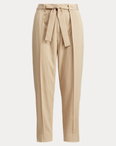 Twill High-Rise Pant