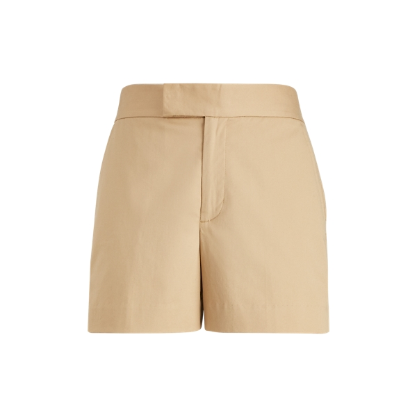 Ralph Lauren Stretch Cotton Twill Short Tan 6