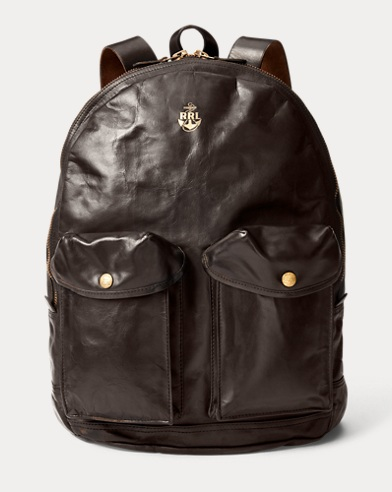 Mitchell Leather Backpack