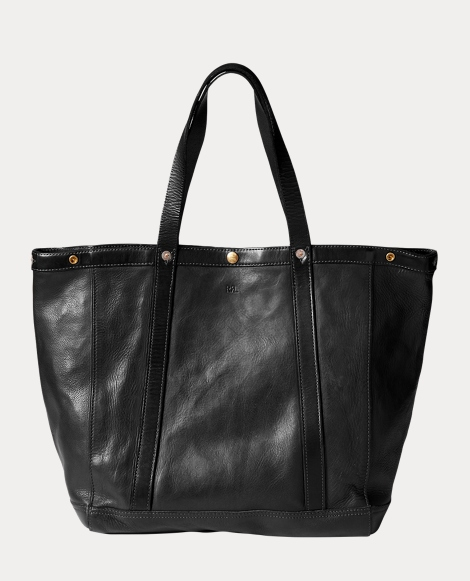 Leather Harris Tote