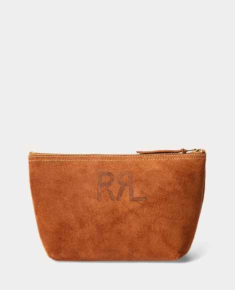 Roughout Leather Pouch