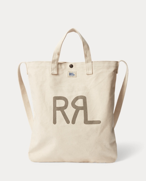 Seeded Canvas Market Tote