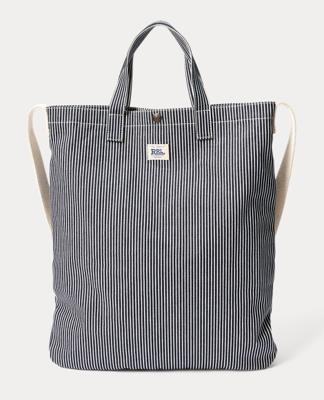 Hickory Striped Market Tote