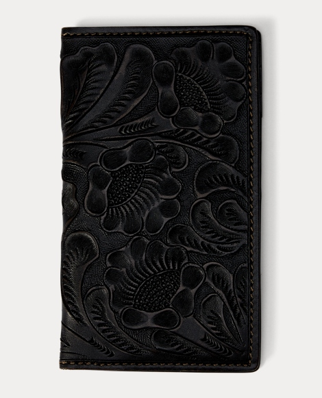 Tooled Leather Passport Cover
