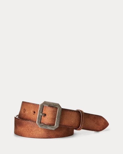 Roughout Leather Belt