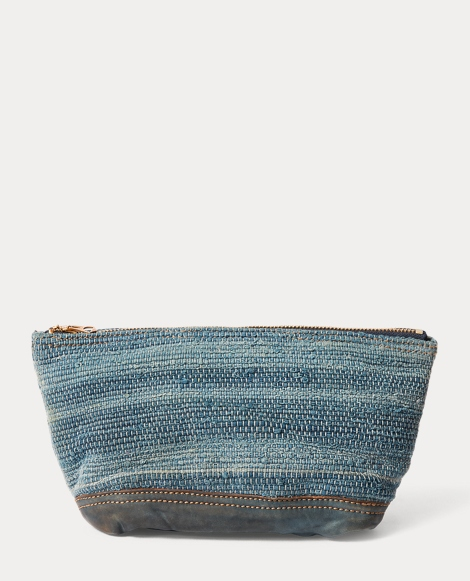 Hand-Woven Blanket Pouch