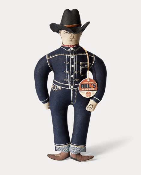 Limited-Edition Cowboy Doll