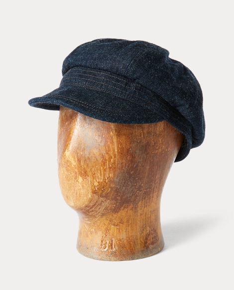 Japanese Denim Grady Cap