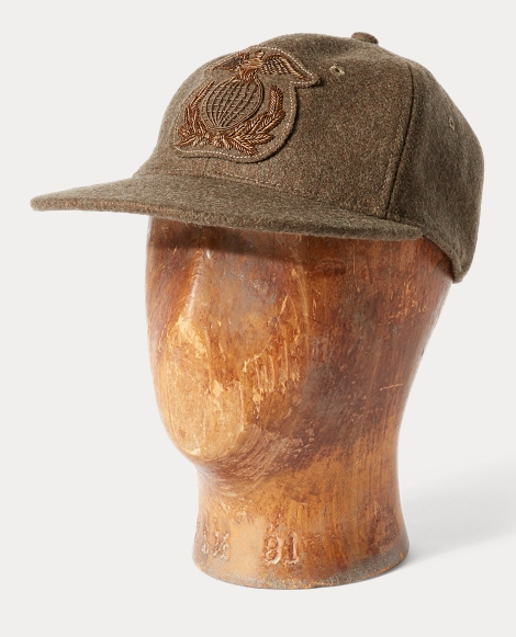 Fitted Wool-Blend Ball Cap
