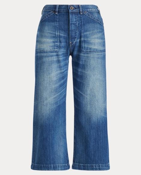 High-Rise Wide-Leg Jean