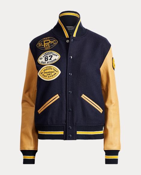 Collegiate Wool Bomber Jacket