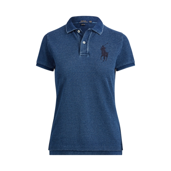 Ralph Lauren Skinny Fit Big Pony Polo Indigo Xs