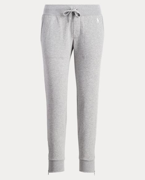 Zip-Cuff Fleece Jogger Pant