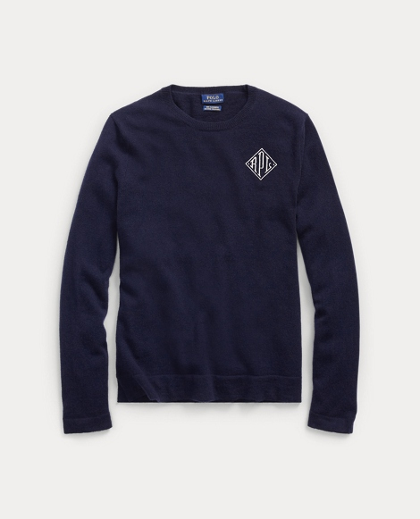 Monogram Cashmere Sweater