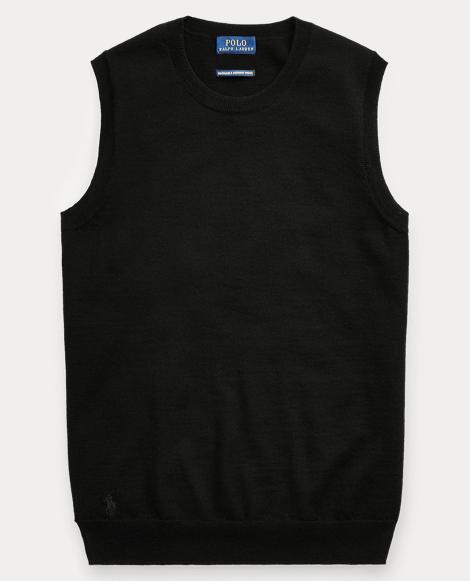 Merino Wool Sleeveless Sweater