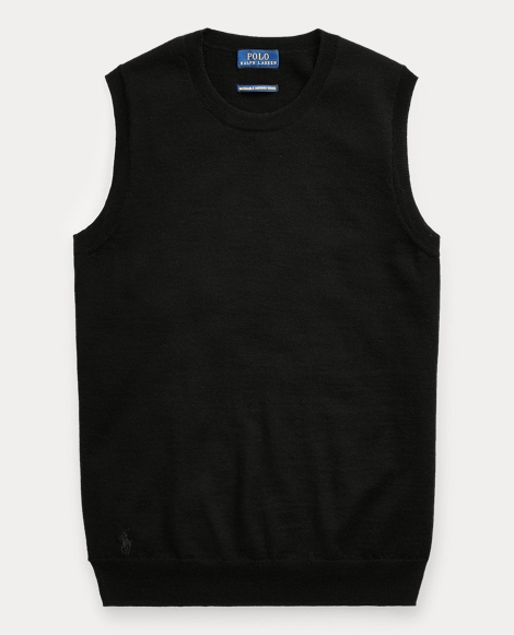 Merino Wool Sleeveless Sweater