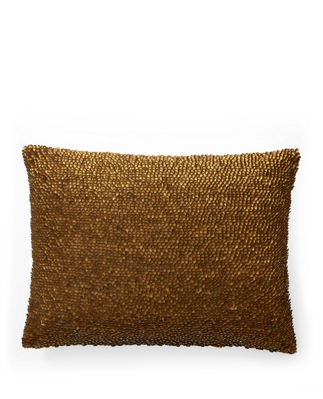 Holt Metal-Jute Throw Pillow