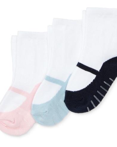 Mary Jane Sock 3-Pack