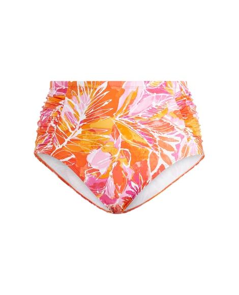 Tropical-Print Bikini Bottom