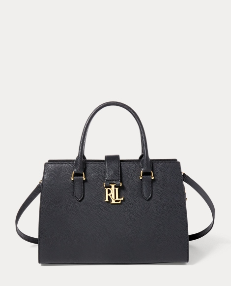 Leather Brigitte II Satchel