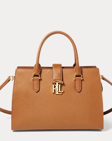 Leather Carrington Satchel