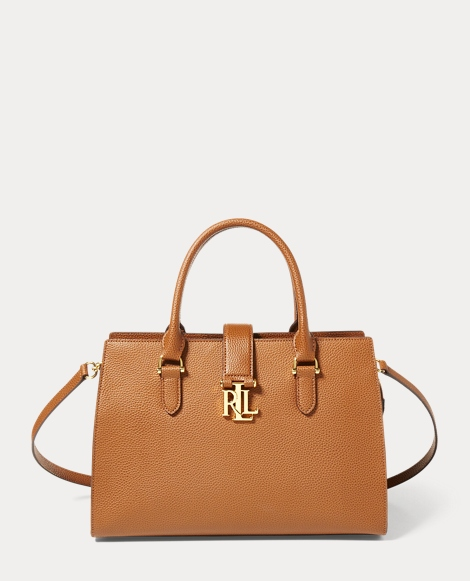 Leather Carrington Satchel