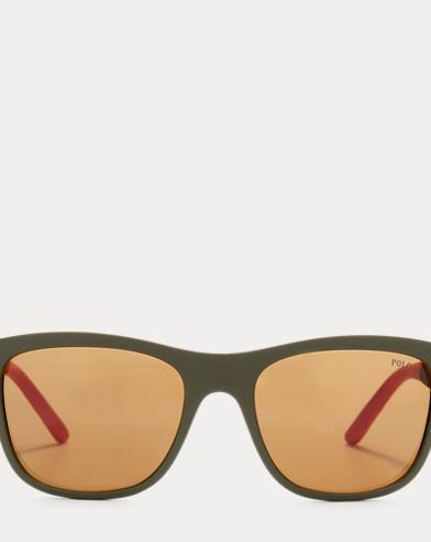 Rubberized Square Sunglasses