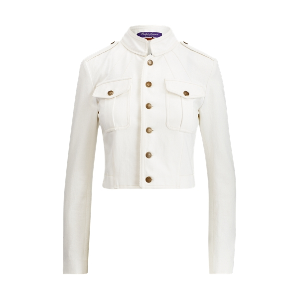 Ralph Lauren Winslow Denim Jacket Off White 8