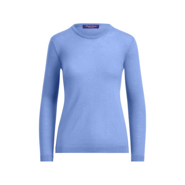 Ralph Lauren Cashmere Crewneck Sweater Sky Blue L